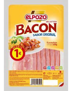 Bacon ahumado el pozo lonchas 120 gr