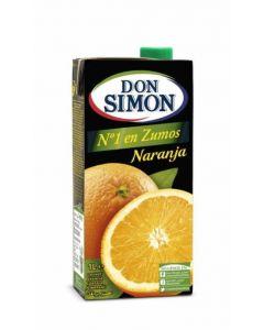 Zumo de naranja don simón brik 1l