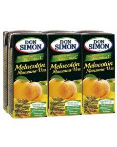 Zumo de melocon-uva disfruta don simon brik p-620cl