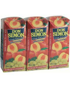 Zumo exprimido de melcoton-uva don simon p-3 20cl