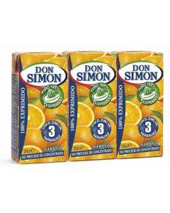 Zumo exprimido de naranja don simon  p-3 20cl