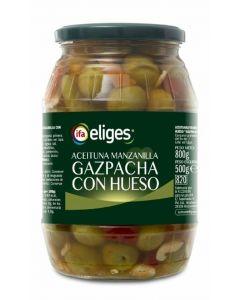 Aceituna gazpacha ifa eliges tarro 500g