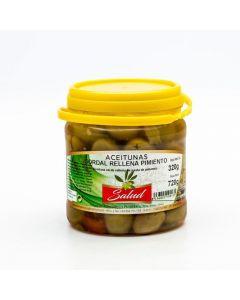 Aceituna gordal r/pimiento la salud bote 320g