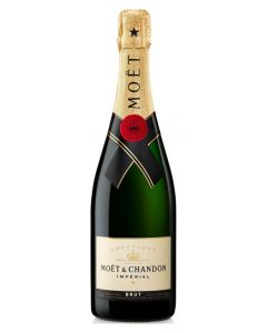 Champagne brut moet chandon botella de 75cl