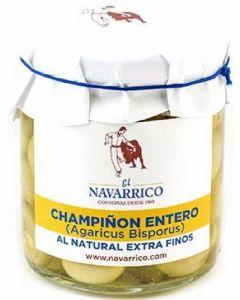 Champiñon entero  navarrico t 125g ne