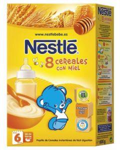Papilla  8 cereales miel nestle  900g