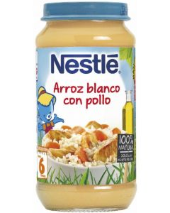 Tarrito  arroz pollo nestle  250g