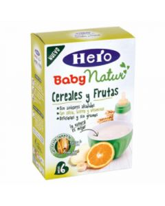 Papilla  cereal fruta hero  500g