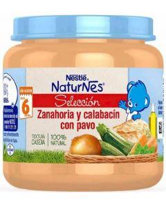 Tarrito de zanahoria, calabacín y pavo nestlé 190g