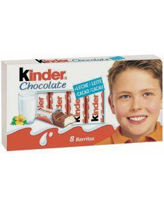 Chocolatina kinder chocolate  t8 100g