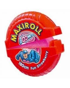 Chicles con azúcar fresa boomer maxi roll 1ud