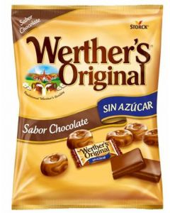 Caramelos sin azucar chocolate werthers  60g