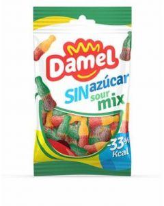 Gominolas sin azucar botella sour damel 100gr
