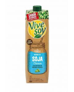 Bebida soja vivesoy brik 1l