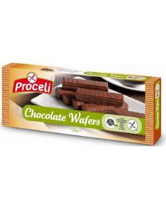 Galleta wafers choco sin gluten proceli