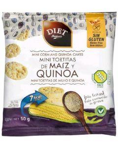 Tortitas sin gluten de maíz y quinoa diet