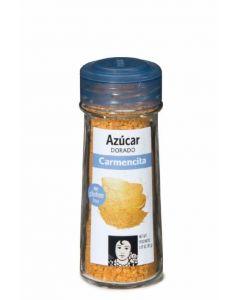 azúcar dorado carmencita en tarro de cristal 80g