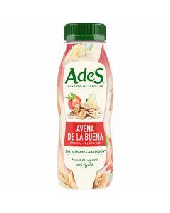 Bebida avena fresa-platano ades 250ml