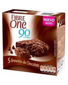Bizcochitos de chocolate fibre one 120g