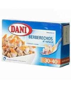 Dani berberecho natural 30/40ud 58gr