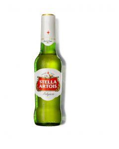 Cerveza stella artois botella 33cl