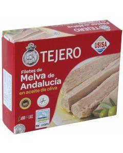 Filetes de melva en aceite de oliva tejero 160g