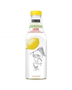 Refresco de limón limón y nada ligera minute maid botella 1l