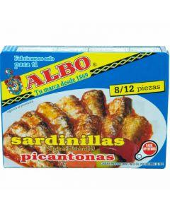 Sardinilla  picantona albo 1/4 dingley 82g ne