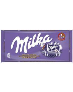 chocolate con leche milka 125g