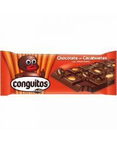 Chocolate con conguitos lacasa  110g