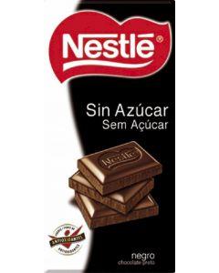 Chocolate negro sin azucar  nestle  125g