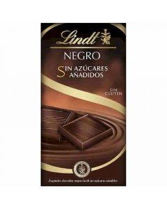 Chocolate negro sin azucar  lindt  100g
