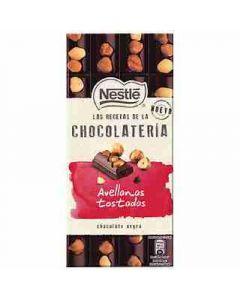 Chocolate negro avellana latelier  195g