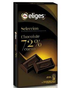 Chocolate negro 72% ifa eliges  125g