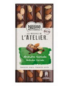 Chocolate negro con almendras latelier  195g