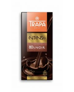 Chocolate negro 80% trapa 175gr