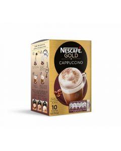Café soluble capuccino natural nescafé 10 sobres
