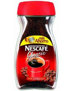 Cafe soluble descafeinado nescafe 200 gr
