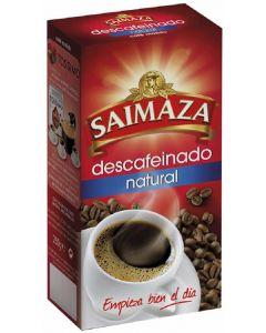 Cafe molido natural descafeinado saimaza 250 gr