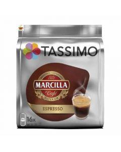 Cafe en capsulas espresso tassimo marcilla 16 capsulas