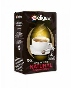 Cafe molido descafeinado ifa eliges 250 gr