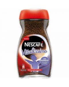 Café soluble descafeinado nescafé vitalissimo 200g