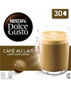 Cafe en capsulas con leche dolce gusto 30 capsulas