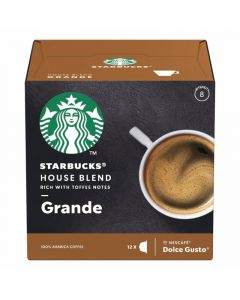 Cafec caps dg house blend starbucks 102gr