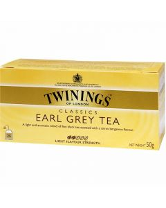 te earlgrey twinings 25 sobres