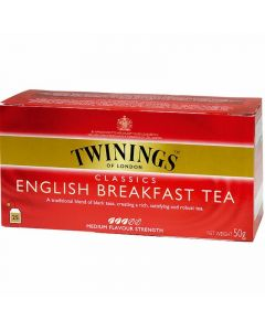 te english breakfast twinings 25 sobres