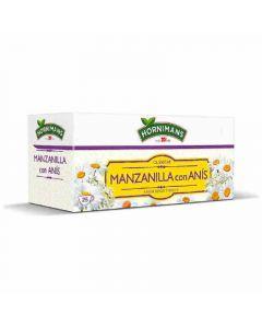 Infusion manzanilla con anis hornimans 25 sobres