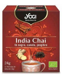 Infusion india chai yogi organic 24 gr