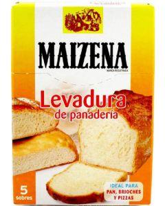 Levadura panaderia sobres maizena 5ud