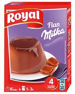 Preparado de flan milka royal 115g